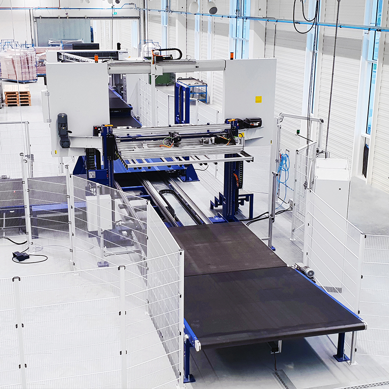 Berco - Automated Factory Foam Processing Cutting Production Machines
